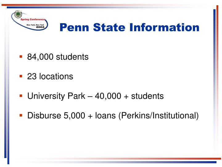 Penn State Information