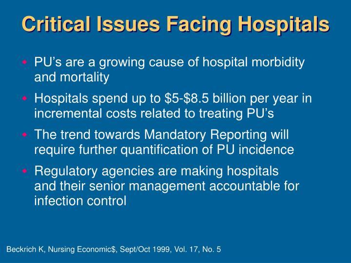 Critical Issues Facing Hospitals