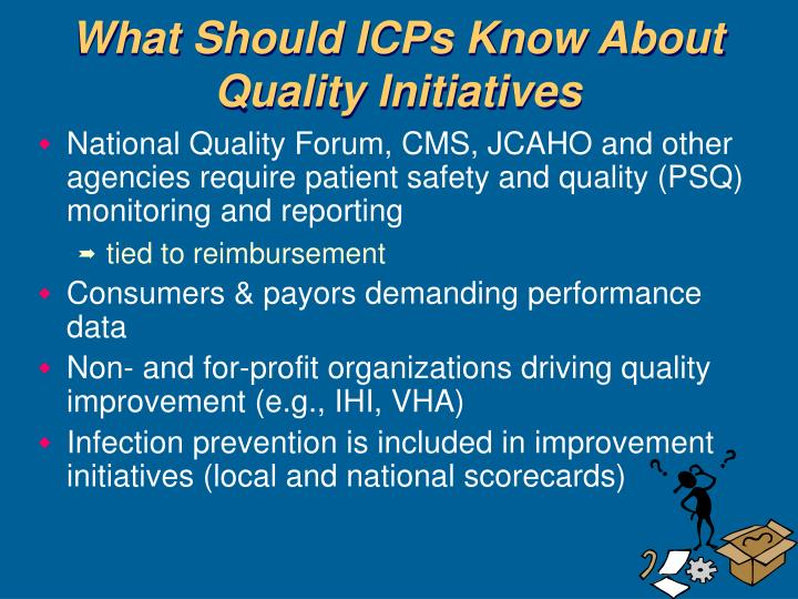What Should ICPs Know About