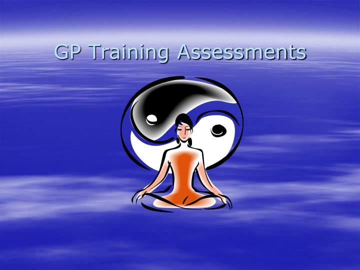 gp training assessments n.