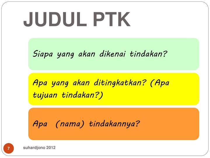 JUDUL PTK