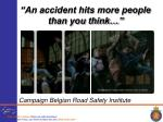 an accident hits more people than you think