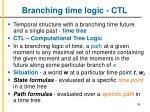 branching time logic ctl