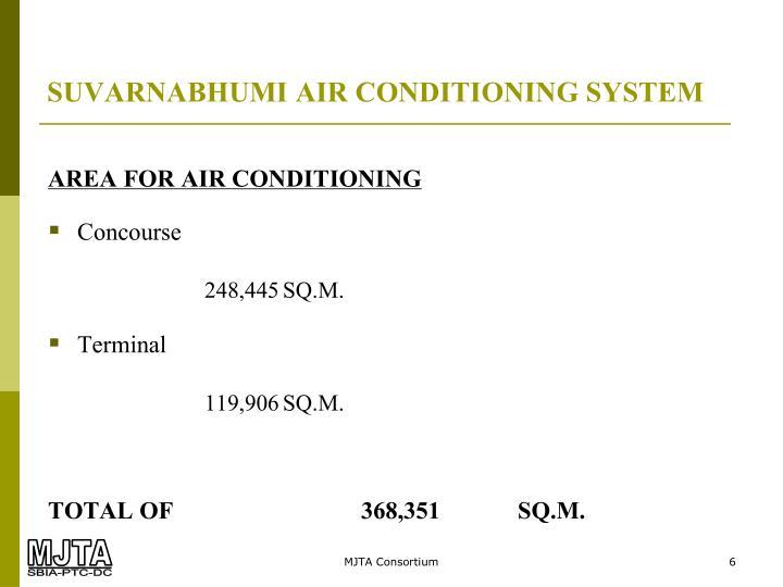 SUVARNABHUMI AIR CONDITIONING SYSTEM