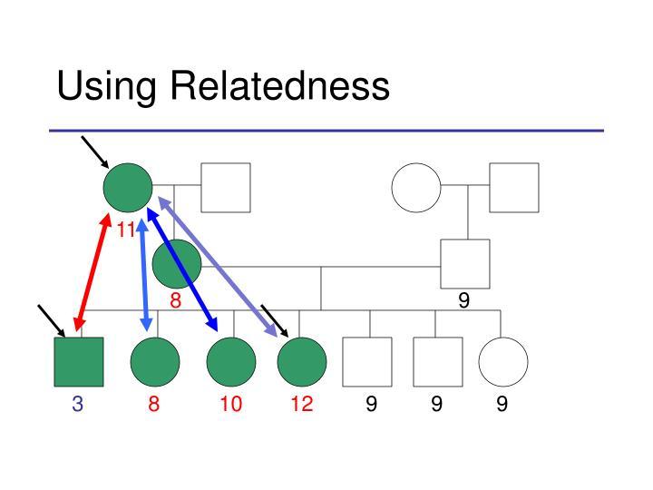 Using Relatedness