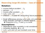 reserving large bi claims loss of income1