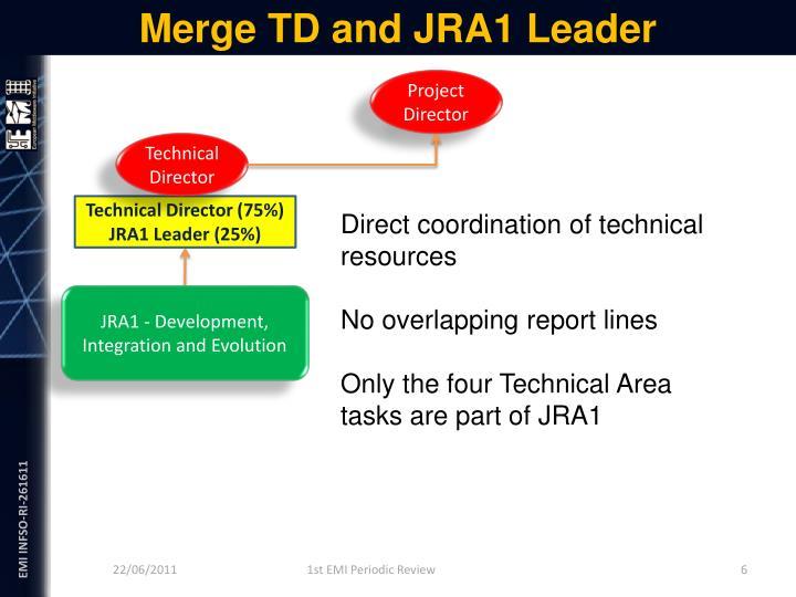 Merge TD and JRA1 Leader