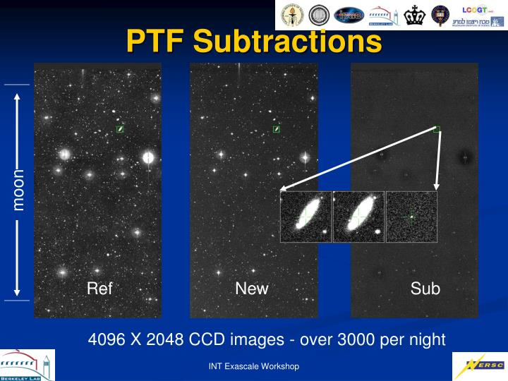 PTF Subtractions