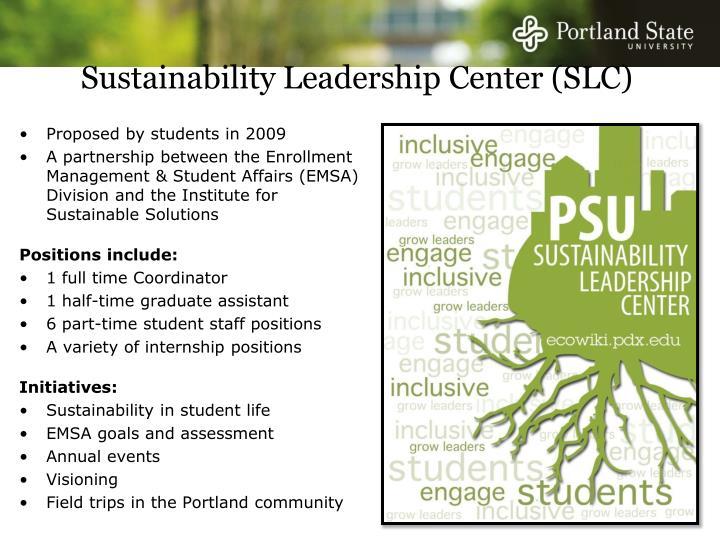 Sustainability Leadership Center (SLC)
