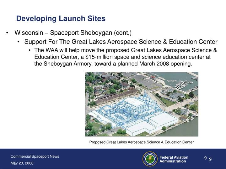 Developing Launch Sites