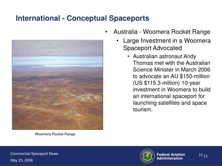 International - Conceptual Spaceports