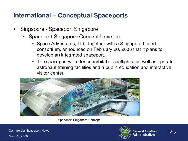 International – Conceptual Spaceports