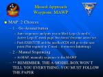missed approach waypiont mawp