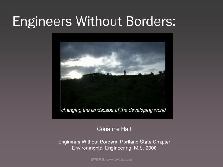 engineers without borders n.