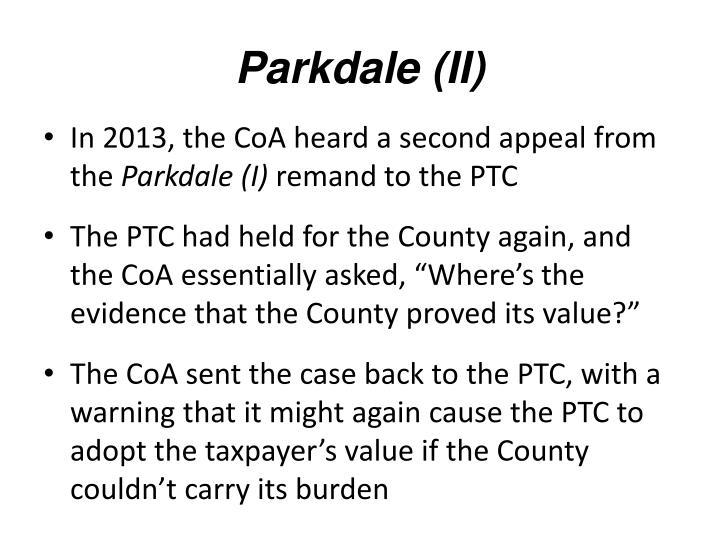Parkdale (II)