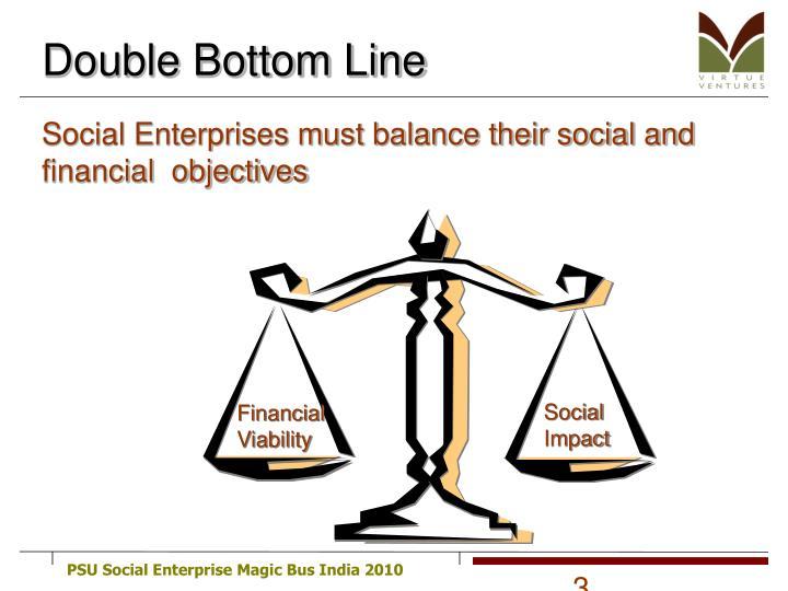 Double bottom line