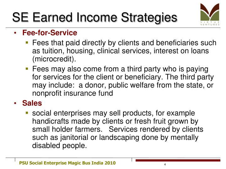 SE Earned Income Strategies