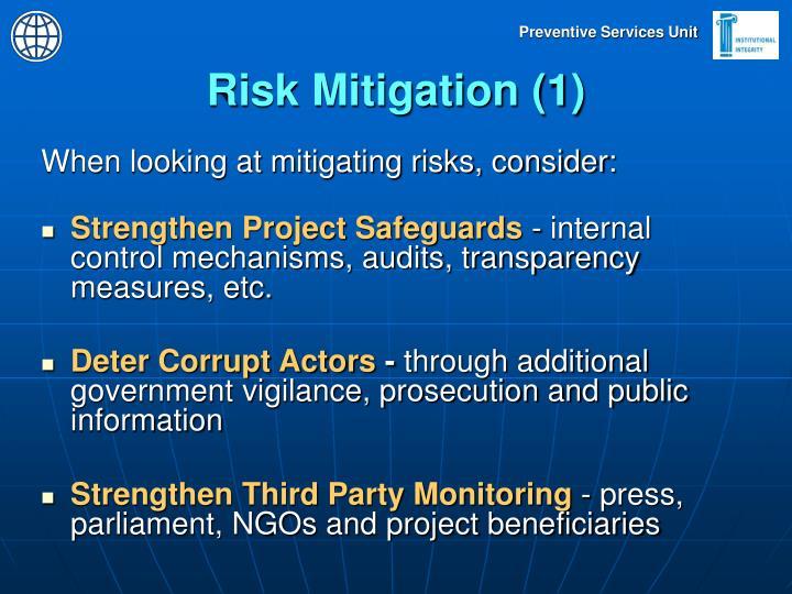 Risk Mitigation (1)