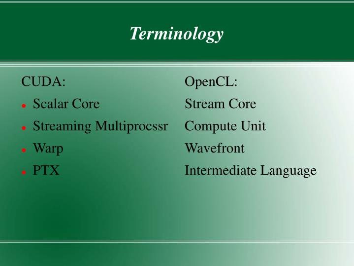 OpenCL: