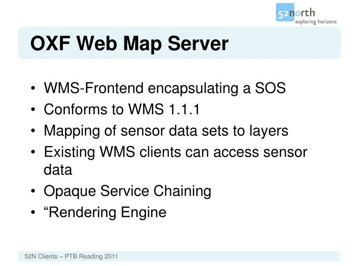 OXF Web Map Server