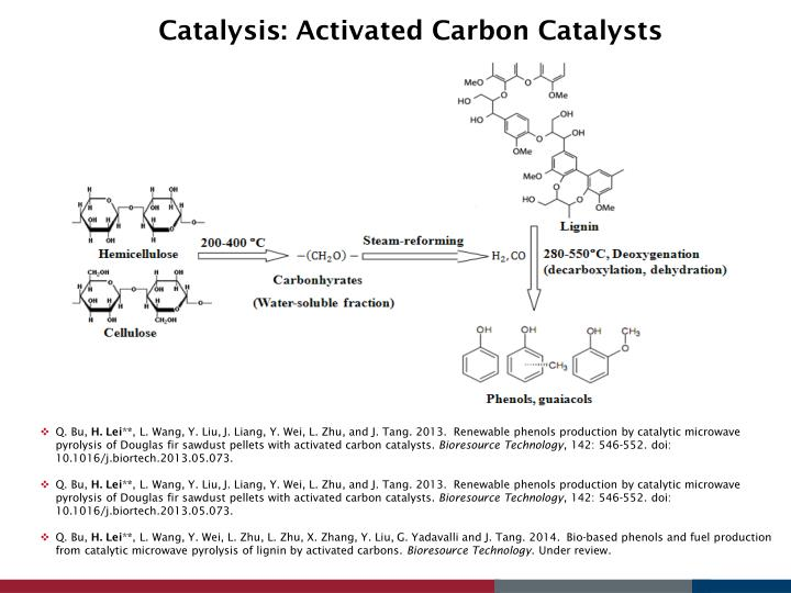 Catalysis: Activated Carbon Catalysts