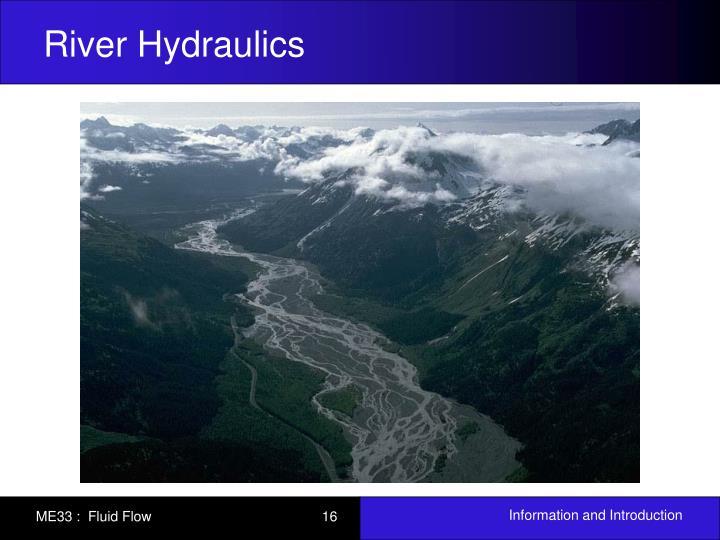 River Hydraulics