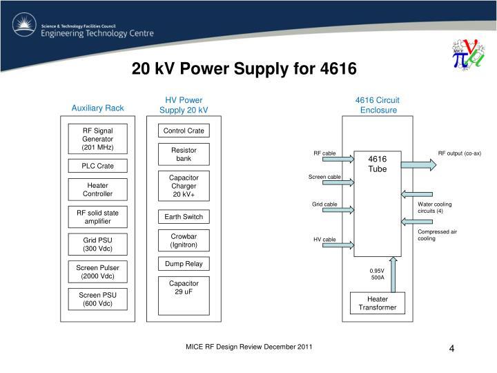 20 kV Power Supply for 4616