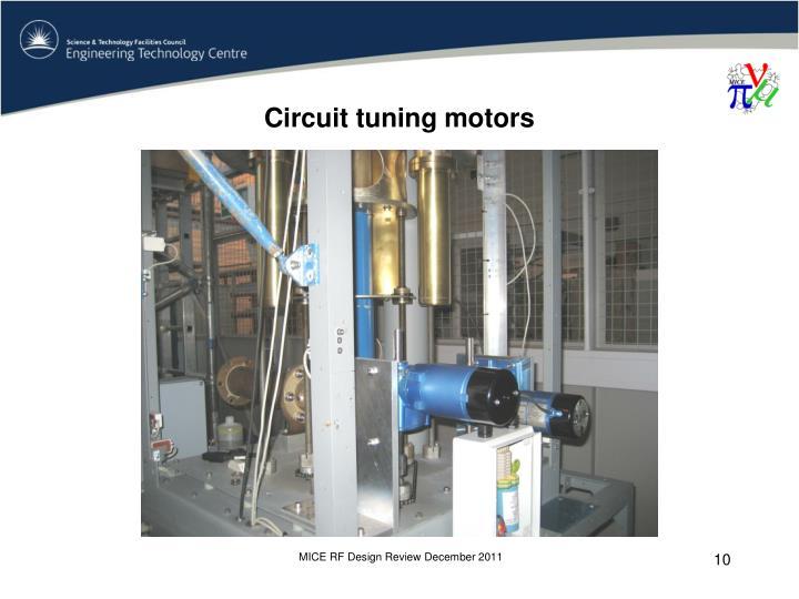 Circuit tuning motors