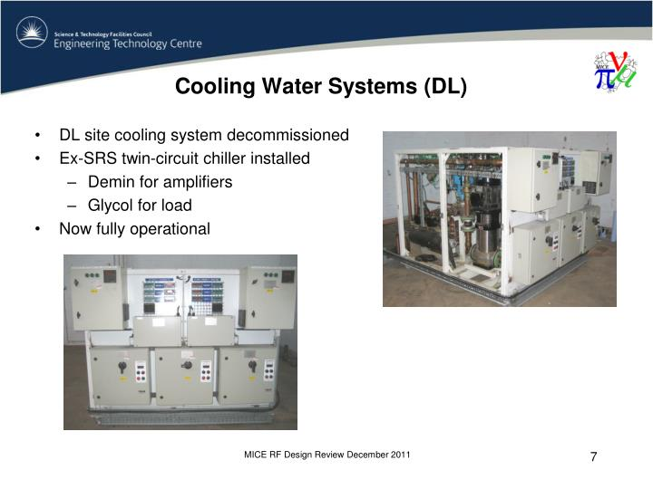 Cooling Water Systems (DL)