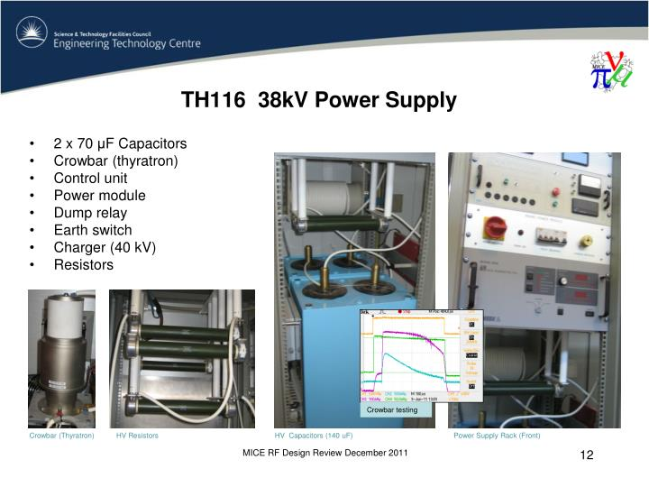 TH116  38kV Power Supply