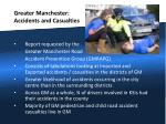 greater manchester accidents and casualties