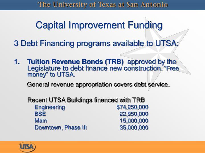 Capital Improvement Funding