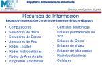 recursos de informaci n