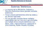 sistemas telef nicos