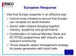 european response