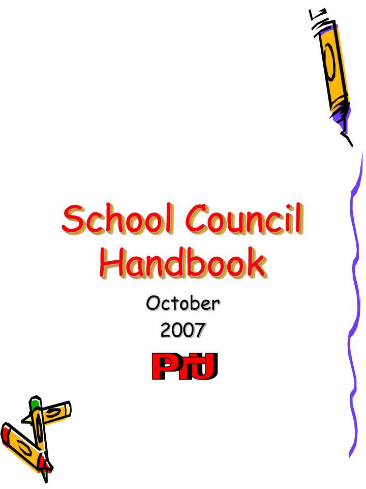 School Council Handbook
