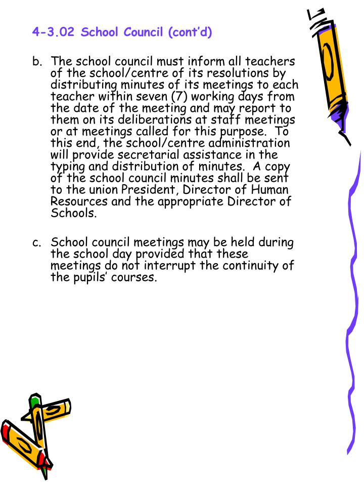 4-3.02School Council (cont'd)