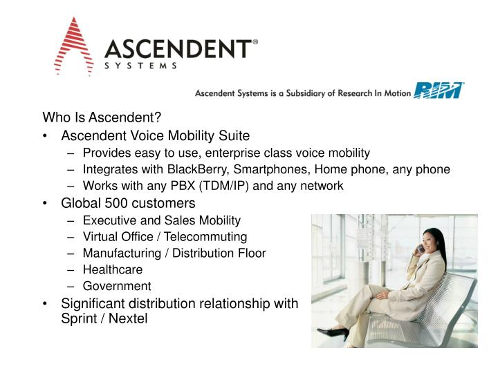Who Is Ascendent?