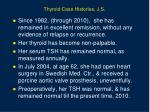 thyroid case histories j s2