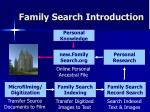family search introduction1