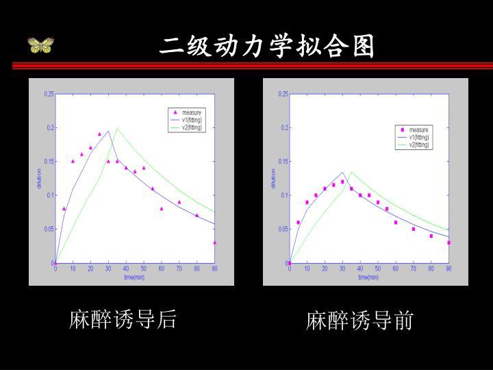 二级动力学拟合图
