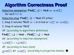 algorithm correctness proof1