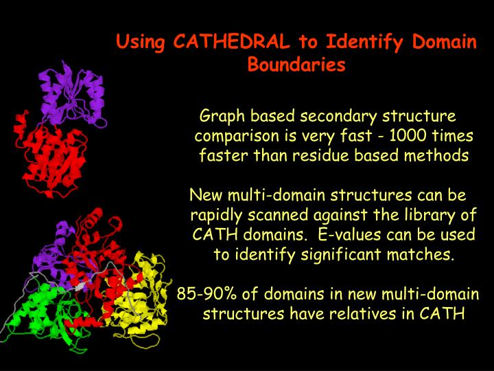 Using CATHEDRAL to Identify Domain Boundaries