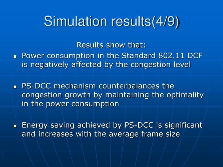 Simulation results(4/9)