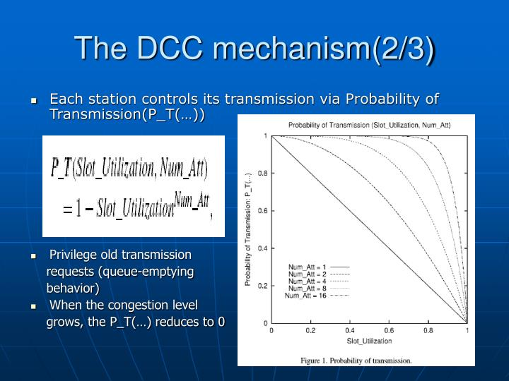 The DCC mechanism(2/3)