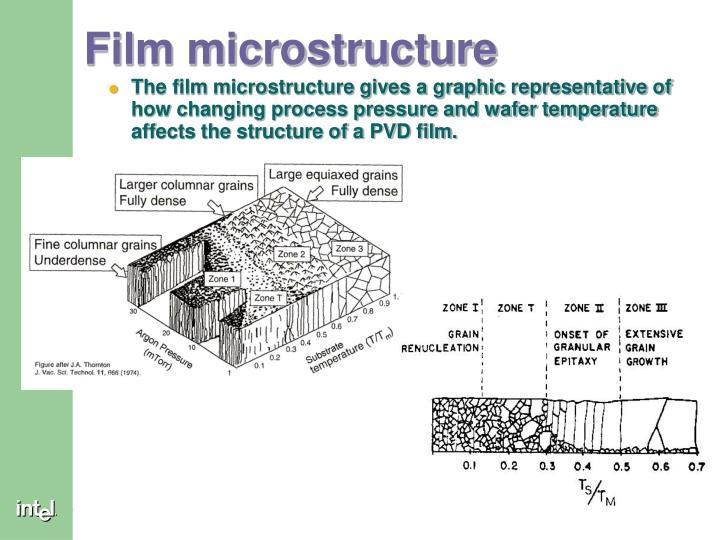Film microstructure