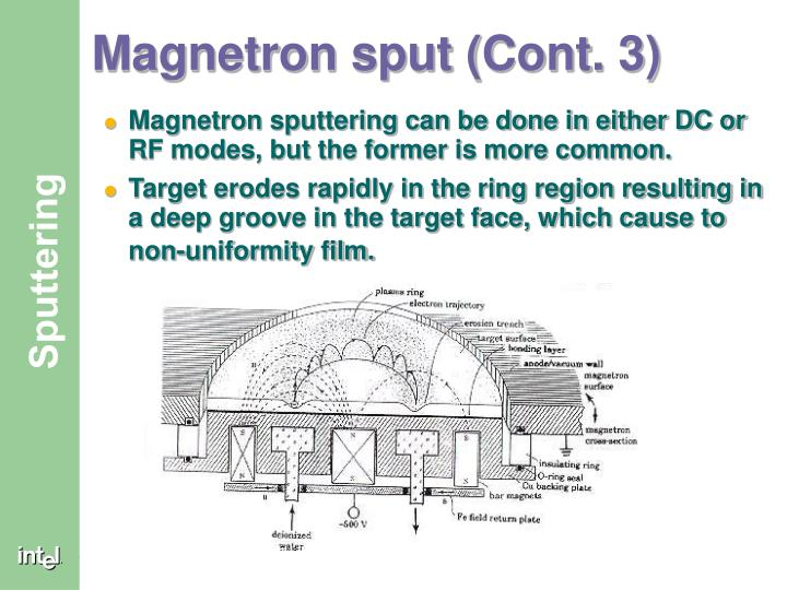 Magnetron sput (Cont. 3)