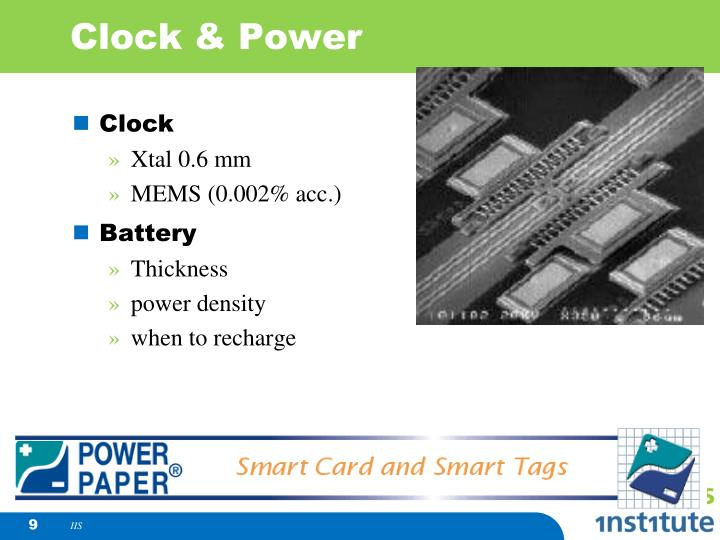 Clock & Power