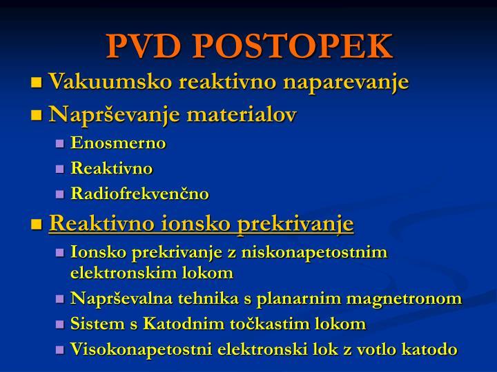PVD POSTOPEK