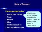 body of persons